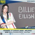Billie Eilish è la prima headliner degli I-Days 2020, e tutte le news della settimana