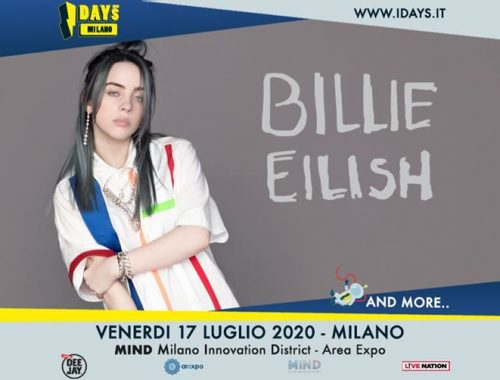 Billie Eilish in Italia nel 2020, I-Days Milano