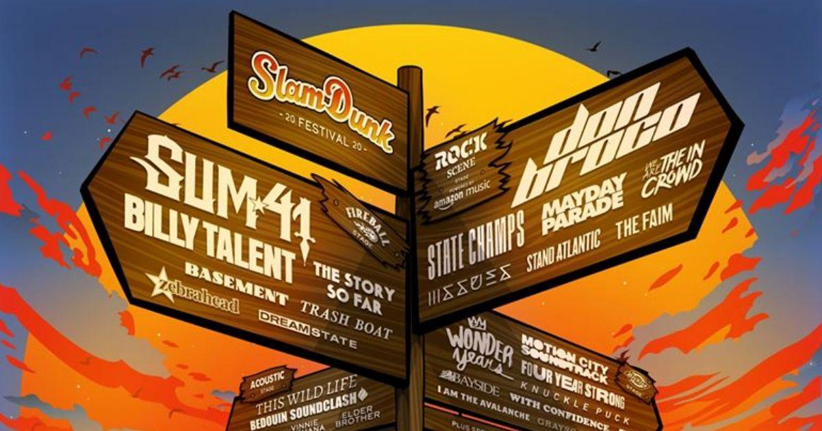 Slam Dunk 2020, lineup completa