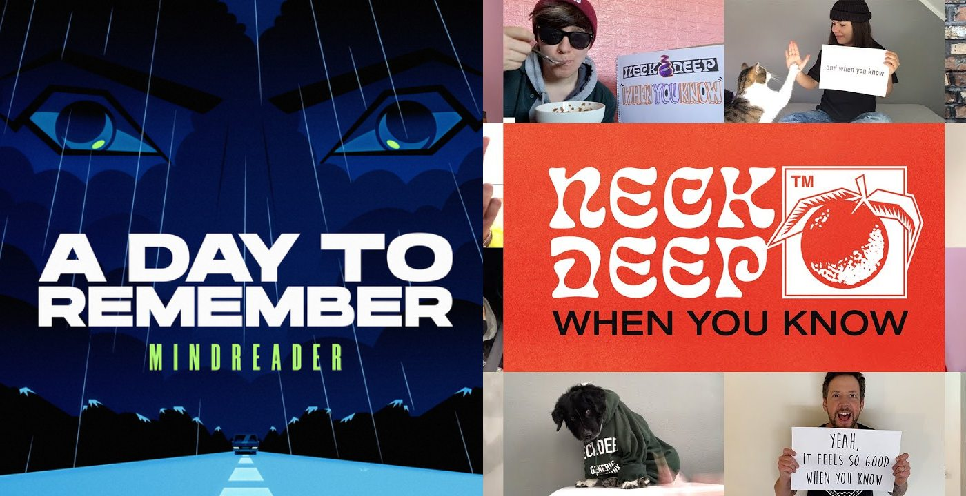 a day to remember mindreader neck deep when you know