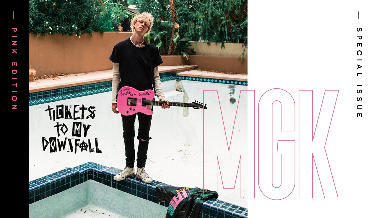 machine gun kelly, tba magazine special issue